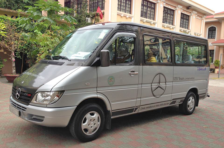 Hire 16-seat Mercedes Sprinter car